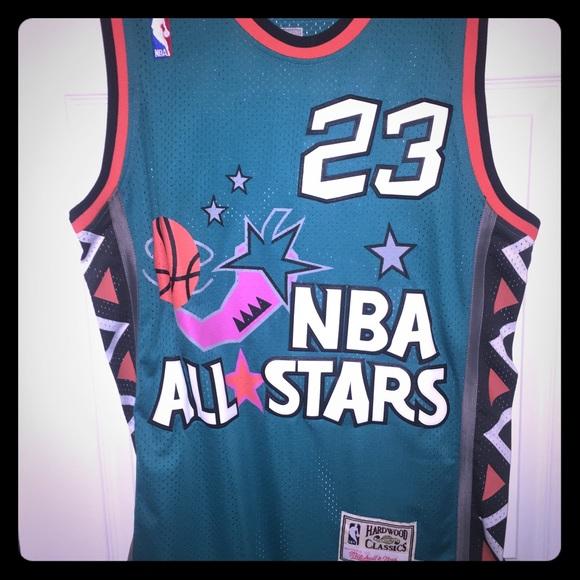 half off 7cb34 763cf Michael Jordan San Antonio NBA All Star Jersey
